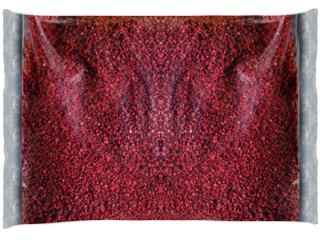 Декоративная крошка красная