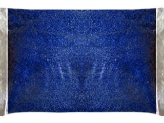 Декоративная крошка синяя