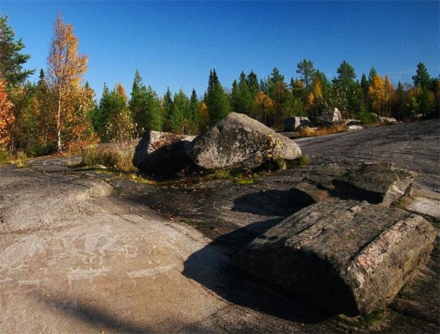 Месторождение шунгита в Карелии